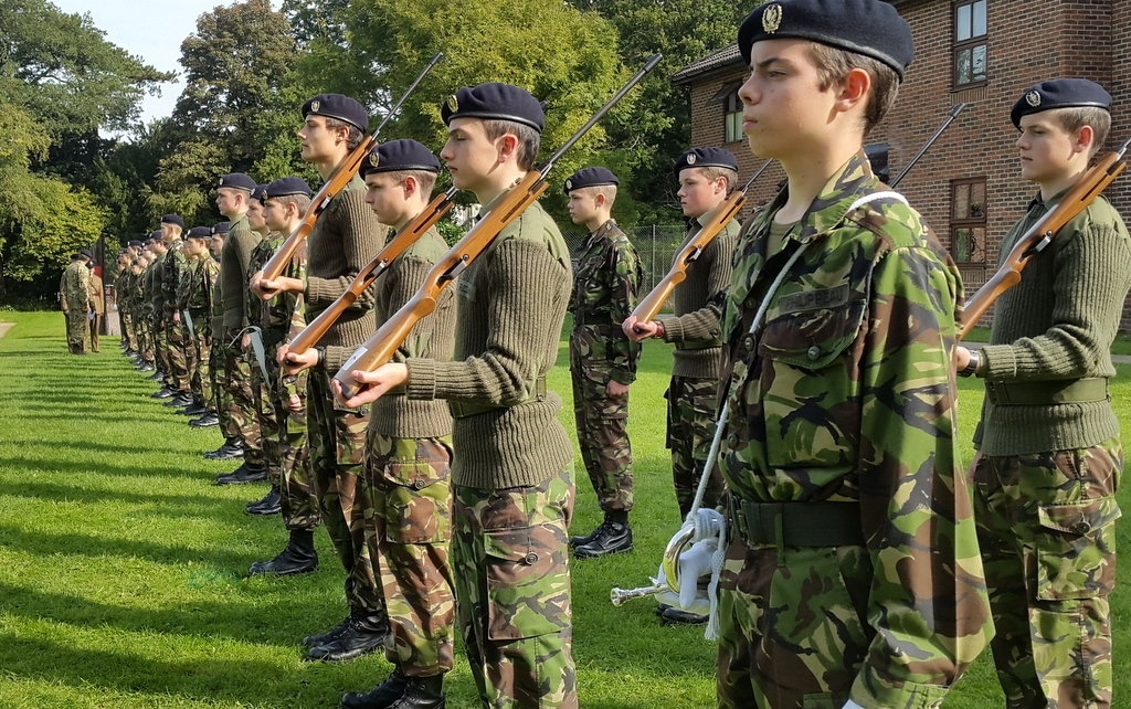 St Michael S Cadet Force Smcf District Of Great Britain